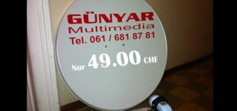 80cm Spiegel + 0,1dB HD LNB