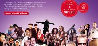 Digitürk IP-TV  Kutu + 12ay Standart  Aile Paketi LigTV Haric Sadece Sfr.189.–